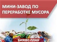 Бизнес-план мини-завода по переработке мусора