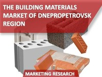 The Building Materials Market of Dnepropetrovsk Region