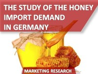The Study of the Honey Import Demand in Germany