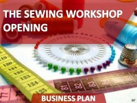 Business Plan of the Sewing Workshop Opening
