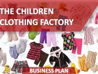 Business Plan of the Children Clothing Factory